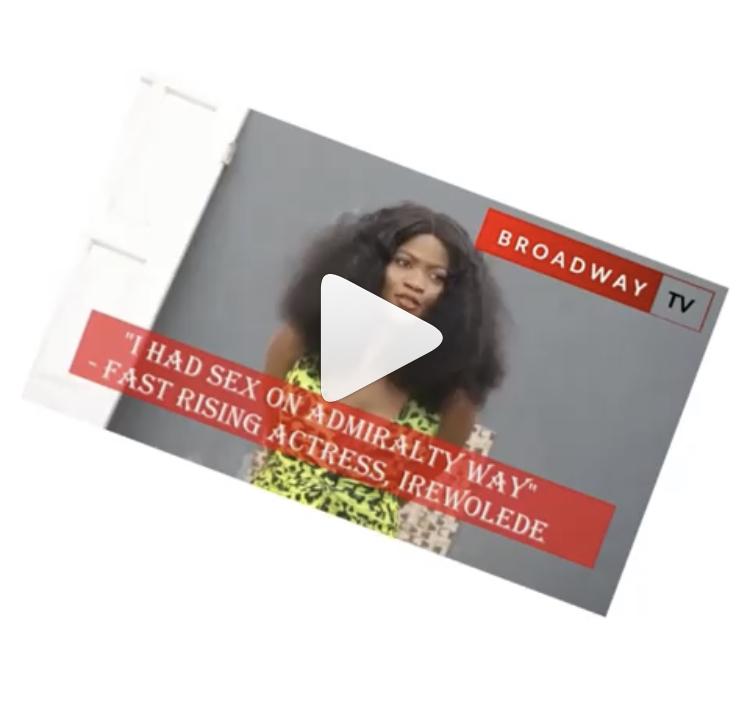 I Had Sex In A Car Along Admiralty Way, Lekki' – Nigerian Actress Confesses
