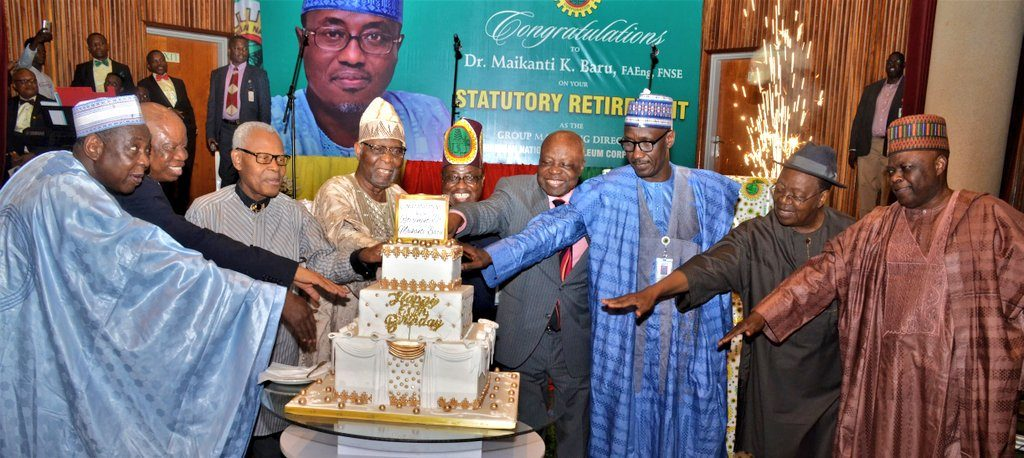 NEWS ONLINE — Inaugural Speech Of Kyari, New NNPC GMD (Photos)