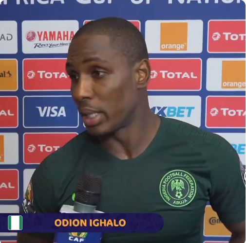 """Nigerians We Are Sorry, We Gave Our Best But It Was Not Enough"""" – Odion Ighalo"""