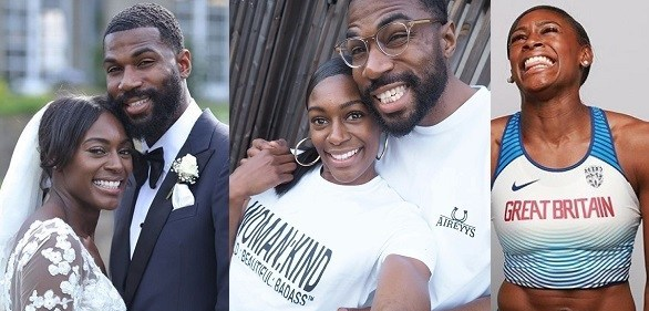 Perri Showing Support For Her Husband Mike - BBNaija 2019