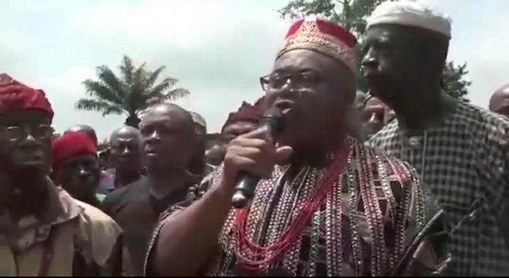 Igbo Monarch Supports Fulani Herdsmen Says 'Nobody Is Driving Them Away'