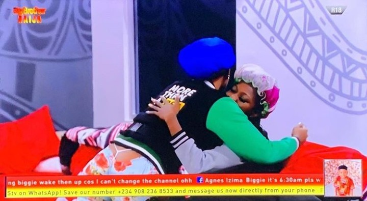 BBNaija 2019: Tacha Reconciles With Thelma After Fight