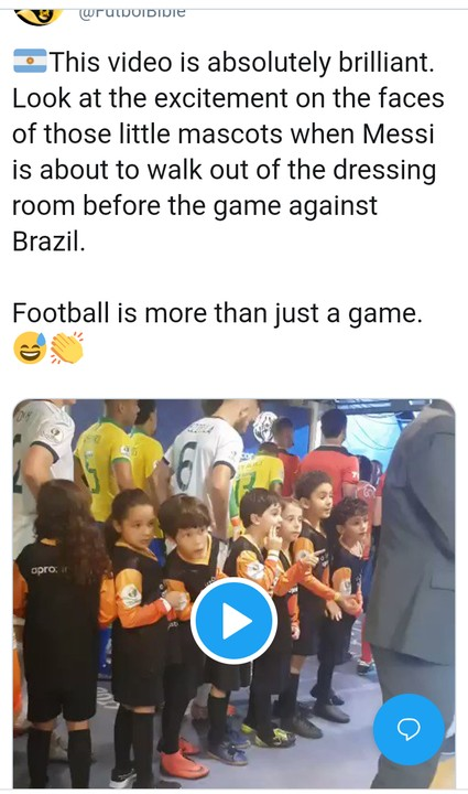 Little Mascots Excited To See Messi With Them In Dressing Room