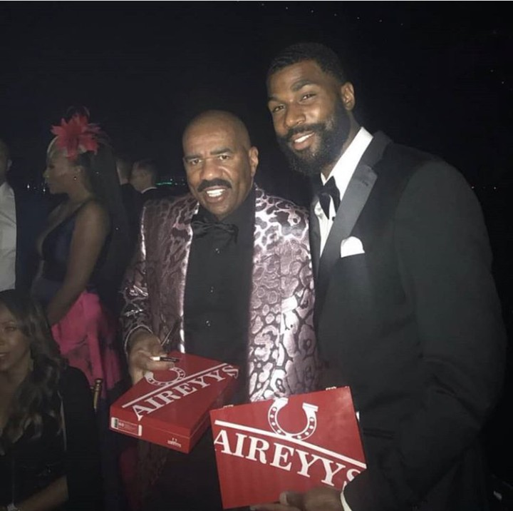 BBNaija 2019:- Photo Of Mike And Popular American Actor, Stephen Harvey
