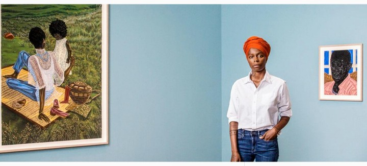 Meet Nigerian Artist Who Sold Artwork For N215 Million – Toyin Odutola