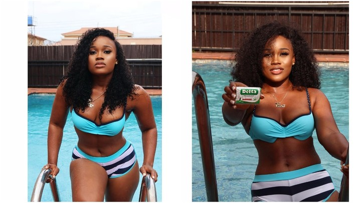 PHOTOS: BBNaija Star, Cee-C Slays In Bikini