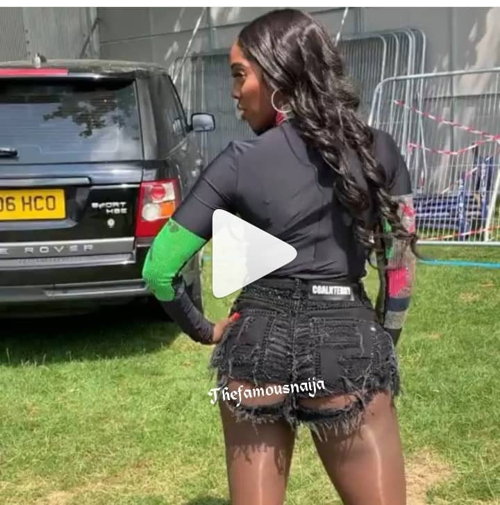 "You Look Like Mad Woman"": Tiwa Savage Under Fire For Wearing Bum Shorts"