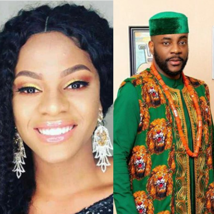 BBNaija 2019:- Jackye's Boyfriend Calls Out Ebuka For Putting Her On The Spot