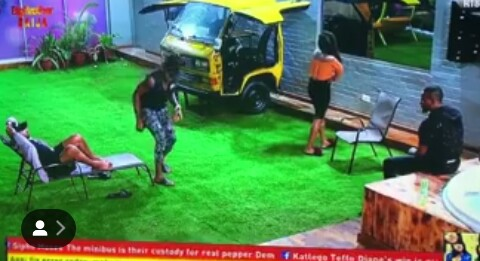 BBNaija Contestants Mocks Tacha On Fake Eviction (Photos)