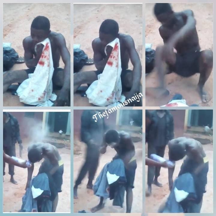 Pepper Spray Applied On Thief Who Steals From People While They Sleep In Edo