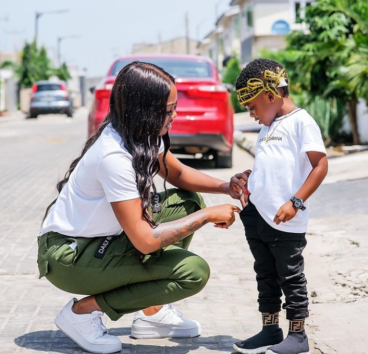 Tiwa Savage Celebrates Son's 4th Birthday In Style (Pics)