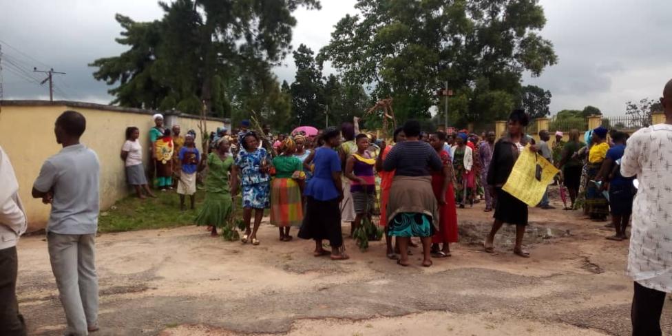 Protest Against Fulani Herdsmen Rocks Akwa Ibom (Photos)