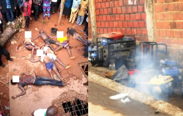 8 People Have Been Killed By Generator Fumes Soak-Away Pit In Enugu