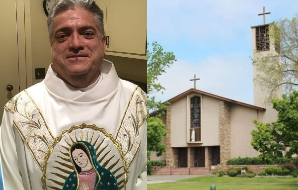 This Catholic Priest Has Been Stealing Church Offering (Pics)