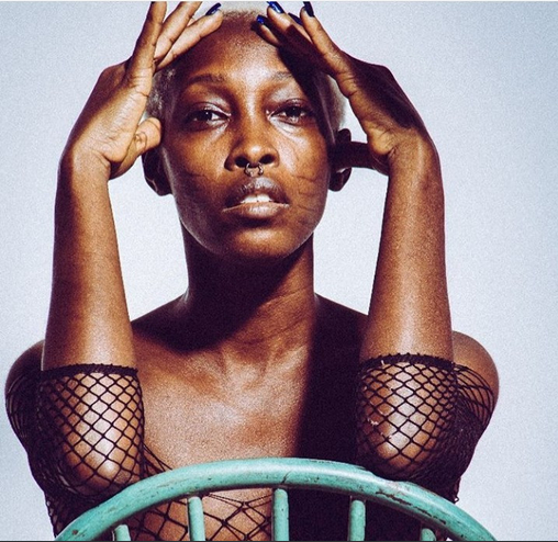 NAWA o!! Model Adetutu Posted Completely Naked Pics With Tribal Marks