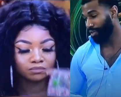 You Carry Bad Energy And Was Happy When You Left (TACHA) @Big Brother Naija