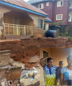 Woman Cries For Imo State Governor's Help As Their House Is About To Collapse