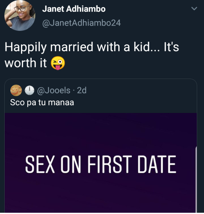Nigerian Lady After S*xx on First Date Finally Marries With A Child