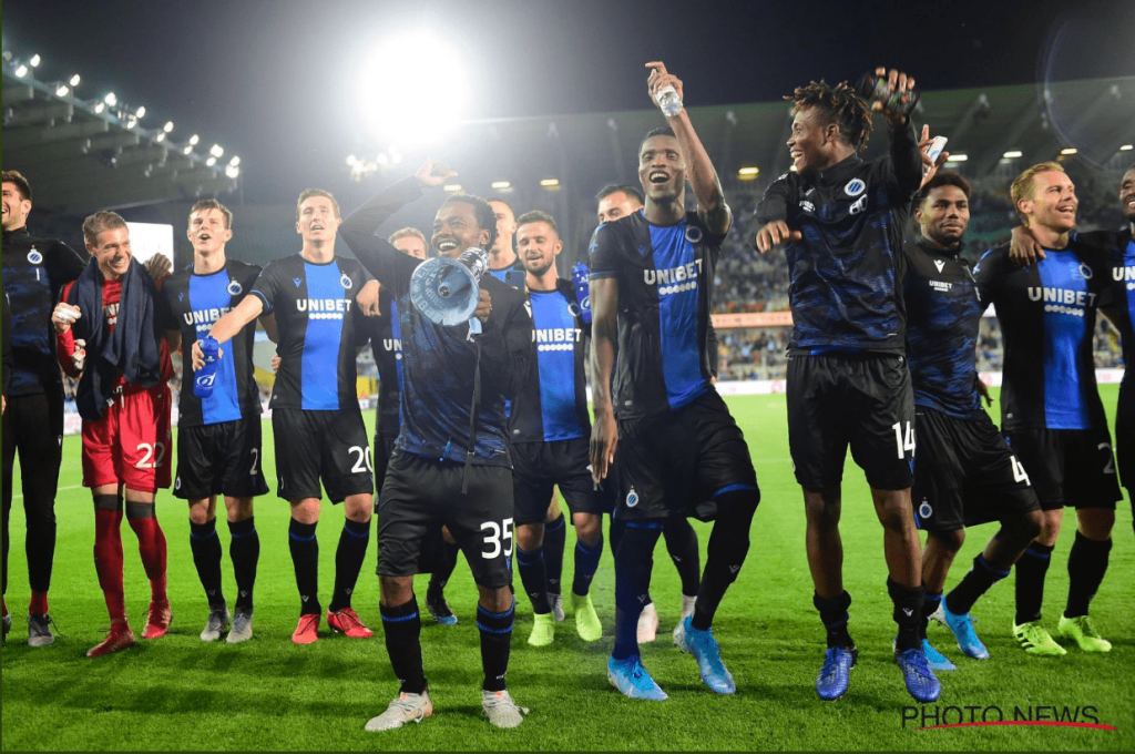 Nigerians On Target In Club Brugge 6-0 Win Over Truiden