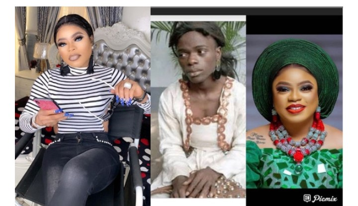 "Cross Dresser ""Bobrisky"": If This My Throwback Photo Doesn't Inspire You, Then You'll Die In Poverty"