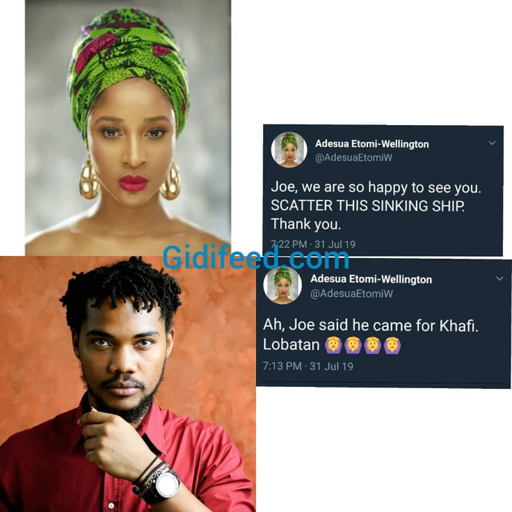 Adesua Etomi Feels Good As Bigge Introduce Khafi Ex- Boyfriend