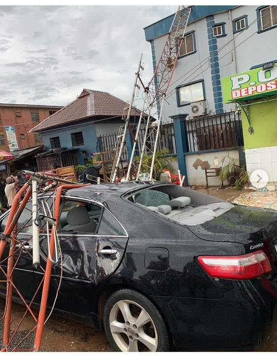 Lagos Police Refused To Issue Report To Man Who Narrowly Escaped Being Killed By This