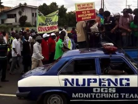 NUPENG issues 7-Day Strike Notice To Federal Government