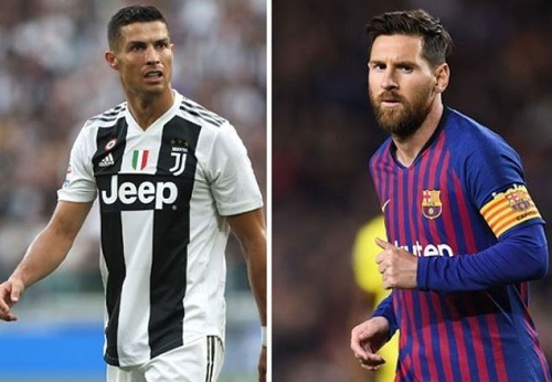 SPORT NEWS: - Ronaldo and Messi Battle For UEFA's Goal Of The Season