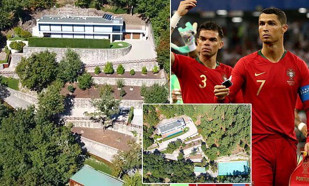 Ronaldo Sells His Hill-Side Mansion To Portugal Teammate, Pepe