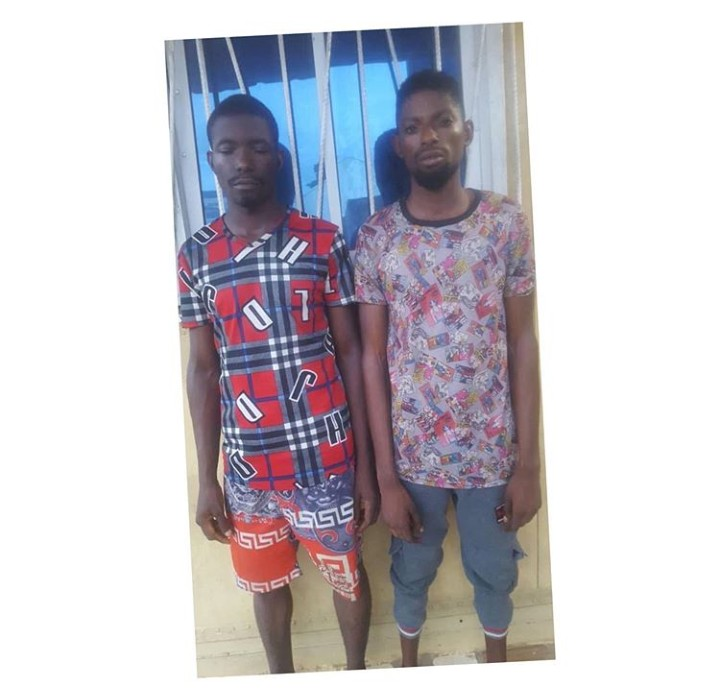 2 Fake Customs Auctioneers Defraud Lagos Businessman Of N4.3m (Photo)