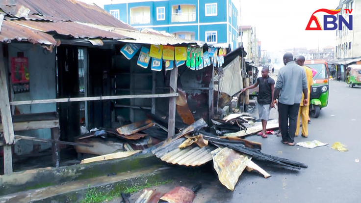 ABN TV Video Reports – Fire Destroys Properties In Umuahia