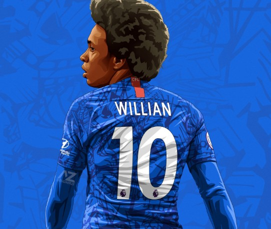 SPORT – William Is Chelsea's New No.10 As Pulisic Gets No.22, Abraham No.9