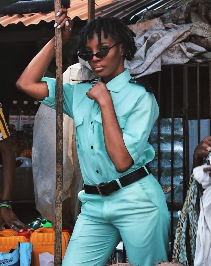 Seyi Shay Takes Photoshoot To The Market – NAIJA