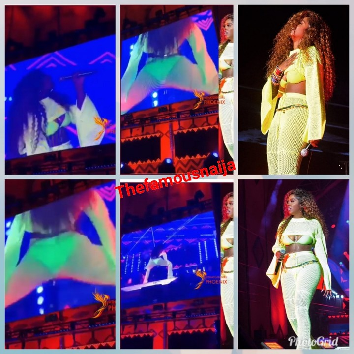 Tiwa Savage Under Fire For Twerking While Performing On Stage (GIST)