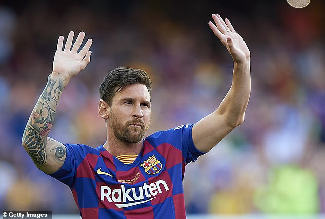 Barcelona Announces Lionel Messi Has Suffered Calf Injury Before The New Season