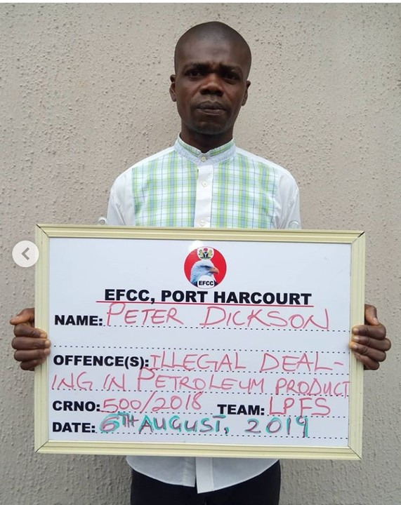 4 Oil Thieves Put To Jailed In PH, Rivers – (Their Pics Here)