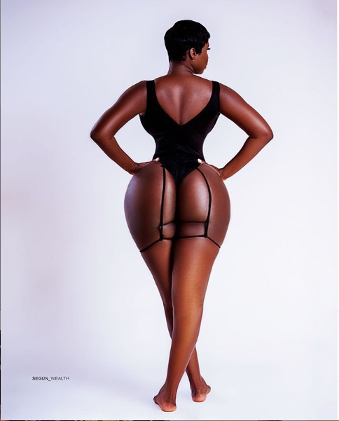 Princess Shyngle Shows Off Her Curvy Backside In New Photo