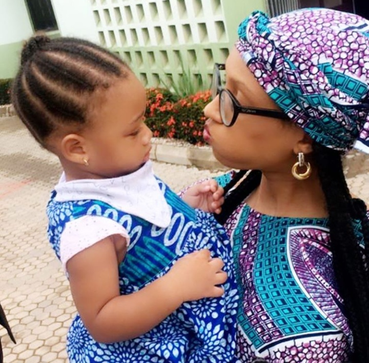 Singer Dija Strikes A Pose With Her Second Daughter