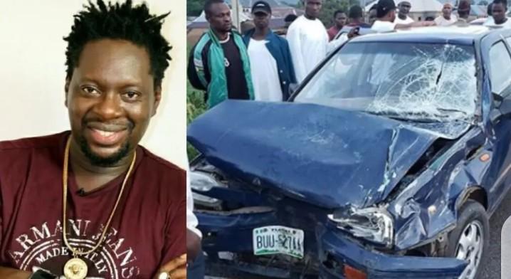 Comedian Klint Da Drunk Thanks God After Surviving Motor Accident (Photo)