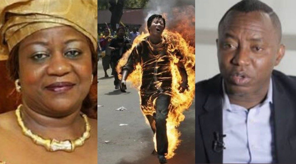 """Sowore: """"DSS Only Saved Him From Setting Self Ablaze"""" — Buhari's Aide"""