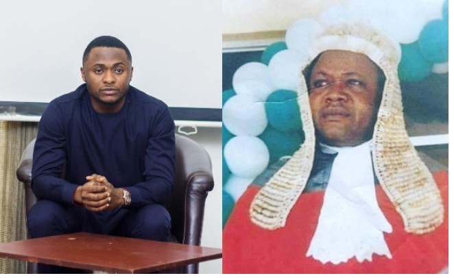 Popular Ubi Franklin Remembers His Late Father (Photo)
