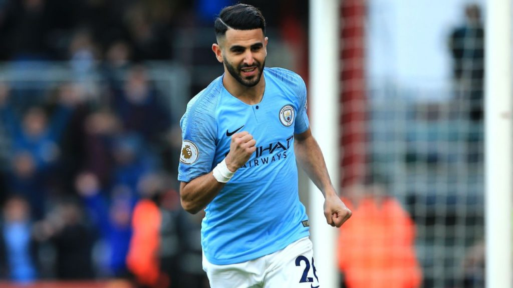 See The Reason Why Guardiola Kept Mahrez Out Against Liverpool Tie