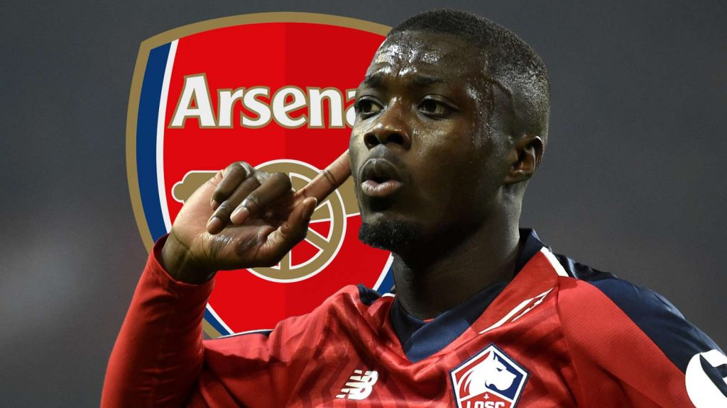 Arsenal Smash Their Transfer Record To Sign £72m Pepe