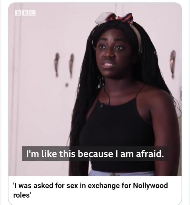 Cinéma: Une actrice de Nollywood révèle la débauche sexuelle pour décrocher un rôle