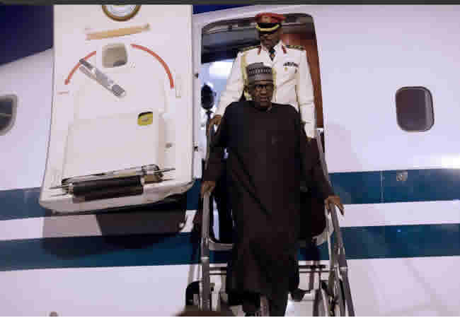Buhari To Upgrade Presidential Aircraft With N1.5bn