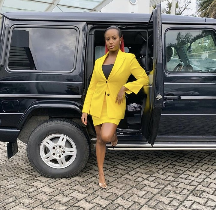DJ Cuppy Poses With Her G Wagon In A Corporate Outfit (Photos) 1