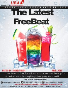 Ugobest Music Presents The Latest Free Beat For All Artistes To Use
