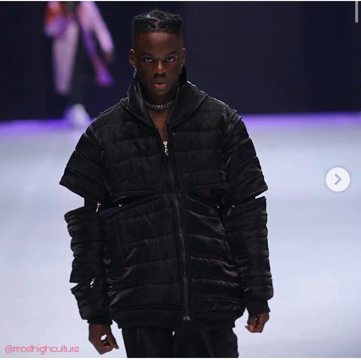 Don Jazzy's Artiste, Rema, Makes His Runway Debut At The Lagos Fashion Week
