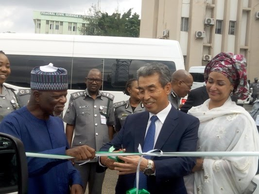 South Korean Embassy Donates 2 Vehicles To Nigerian Customs