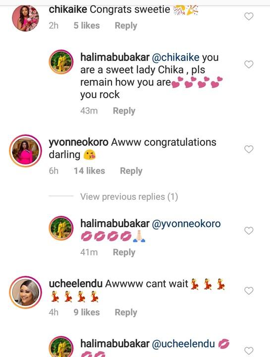 Actress Halima Abubakar Is Pregnant (Photos) 4
